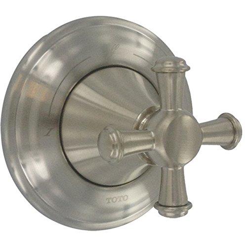 - Toto TS220DW#BN Vivian Two-Way Diverter Trim-Cross Handle, Brushed Nickel