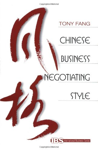 chinese negotiation style