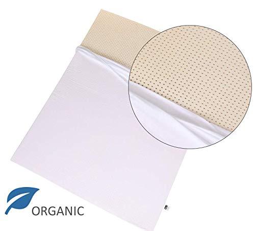 Latex Queen - Organic 100% Natural Latex Mattress Topper - Soft Firmness - 2