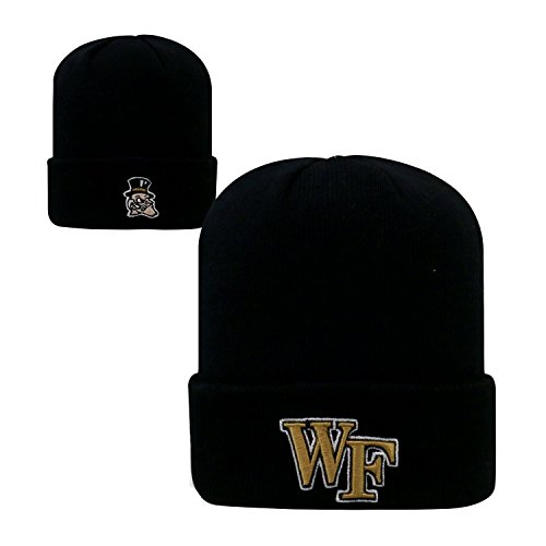 - Top of the World Wake Forest Demon Deacons Official NCAA Knit Youth Tow Cuffed Beanie Stocking Stretch Sock Hat Cap 096933