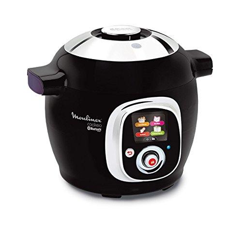 Moulinex Cookeo Connect CE7038 - Robot de cocina, conectividad con tablet y...