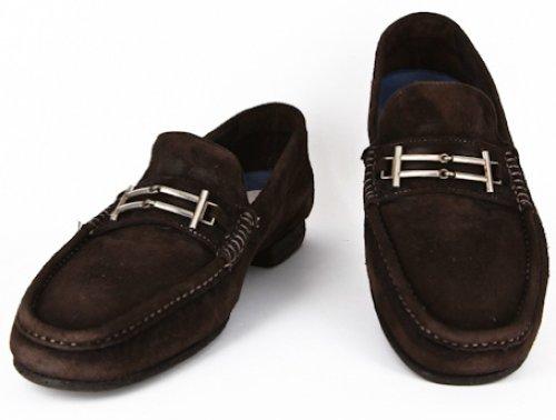 New Sutor Mantellassi Brown Shoes 7/6 ezhNpxTuK0