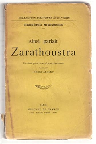 Ainsi Parlait Zarathoustra Pdf