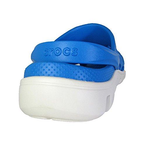Ocean Unisex Crocs Sport Duet Clog White 48IHOwBnwq