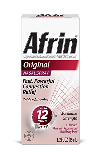 Afrin Original Spray, 0.5 Ounce