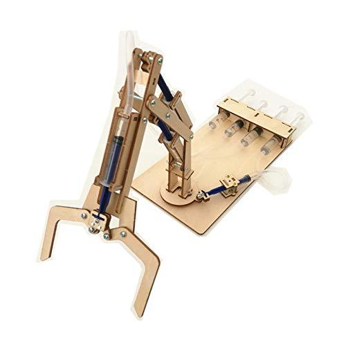 juler Stem Toys Tecnología de Brazo mecánico hidráulico Pequeña producción Pequeño invento Modelo eléctrico...