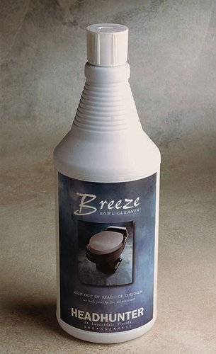 BREEZE (Case 12 bottles) Bio-Enzymatic Toilet Bowl Cleaner / Deodorizer -by HEADHUNTER