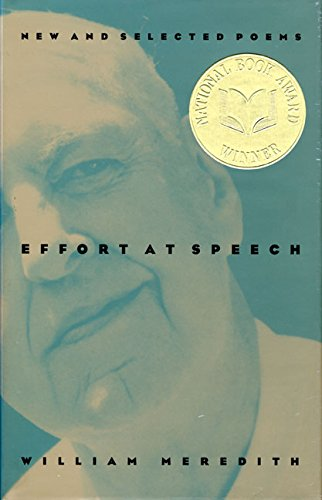 Try at Speech: New and Selected Poems