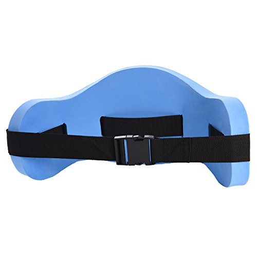 Ivation water exercise set 6 piece set water workout and aerobics floatation belt for Flotation belt swimming pool exercise equipment