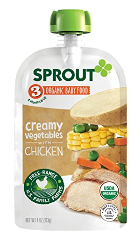Sprout Organic Pouches Vegetables Chicken product image