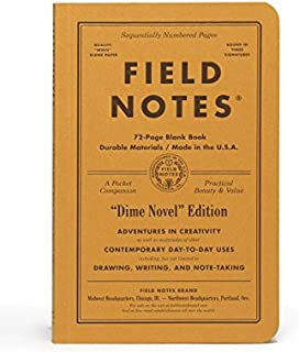 product image for Field Notes Dime Novel Special Edition Blank Books, 2-Pack (4.25x6.5-Inch) Fall 2017