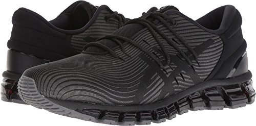 ASICS Men's Gel-Quantum 360 4 Running Shoe,Dark Grey/Black, 12 D(M) US