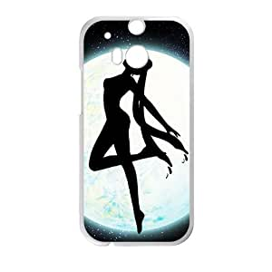 Happy Romantic dancing in moon Flower Fairy Cell Phone Case for HTC One M8