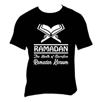 FMstyles - Ramadan The Month of Sacrifice White Unisex Tshirt- FMS249