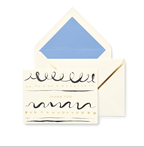 Kate Spade Thank You Card Set, Daisy Place (174134) (Kate Spade Place Cards)