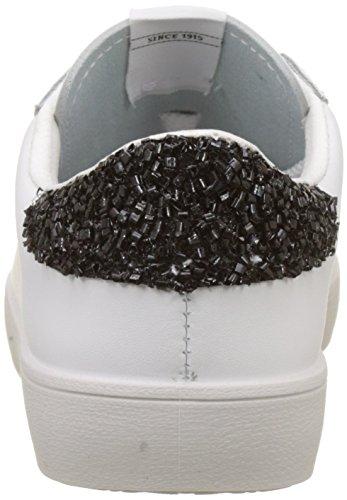 Unisex Piel Victoria Negro Adulto Zapatillas Deportivo vwvqF
