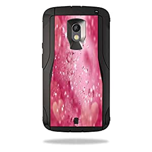 MightySkins Protective Vinyl Skin Decal for OtterBox Defender Motorola Droid Maxx 2 wrap cover sticker skins Pink Diamonds