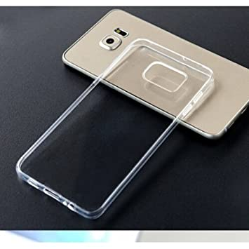 pretty nice 9cf4f 2aec6 Helix Flexible Transparent Back Cover for Samsung: Amazon.in ...