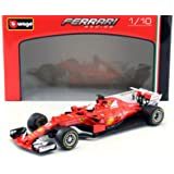 2017 Ferrari Formula 1 F1 SF70H #5 Sebastian Vettel 1/18 Diecast Model Car by Bburago 16805 SV