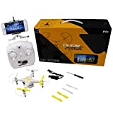 [Really Popular RC Quadcopter] - [RC Drone], BESSKY Yellow Cheerson CX-30w FPV Wifi G-sensor Control Quadcopter 4CH 6 Axis RC Drone with 0.3MP Camera