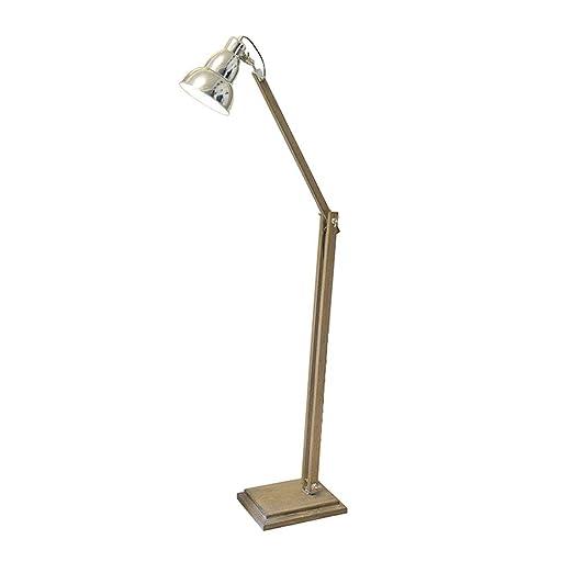 ZWK Lámpara de pie, Lámpara de Lectura LED de pie ...