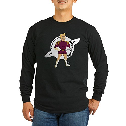 CafePress Zapp Brannigan No Name Unisex Cotton Long Sleeve T-Shirt Black -