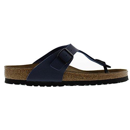 Birkenstock Womens Gizeh Slide Sandal, Blue, 41 M EU