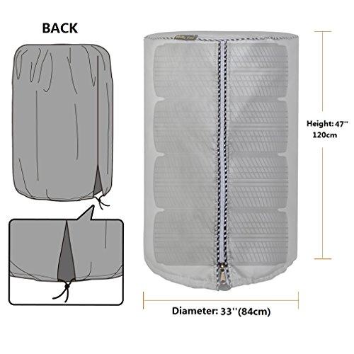 - Mr.You Seasonal Tire Cover&Tire Storage Bag Large GarageMate TireHide Seasonal Tire Tote Waterproof Dust-proof Diameter 33