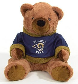 St. Louis Rams 20 inch Plush Bear