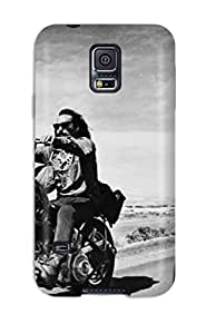 ChriDD LVoueCf4774NPXqy Case For Galaxy S5 With Nice Photography Black And White Appearance