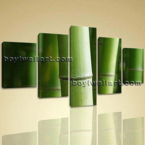 5-pcs-modern-abstract-wall-art-botanical-feng-shui-zen-hd-print-on-canvas-bamboo-extra-large-wall-ar