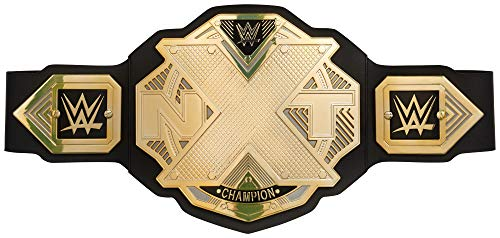 WWE GCW70 NXT Championship Belt Frustration-Free Packaging, Multicolor