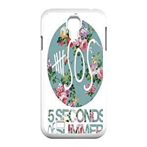 Rock band poster 5SOS Hard Plastic phone Case Cover For SamSung Galaxy S4 Case XFZ403926