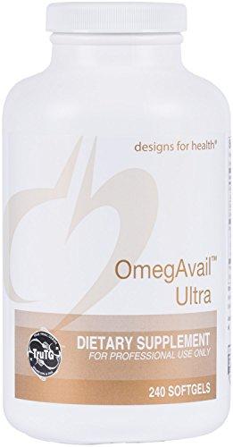 Designs Health OmegAvail 1000mg Softgels