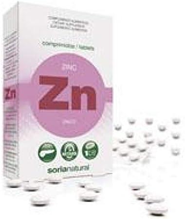 Soria Natural Zinc Retard - 48 Tabletas: Amazon.es: Salud y ...