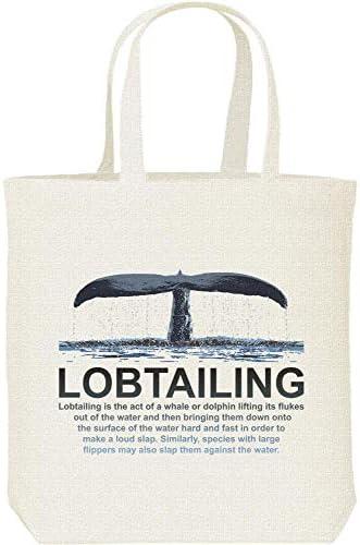 エムワイディエス(MYDS) LOBTAILING(クジラの尾びれ)/キャンバス M トートバッグ