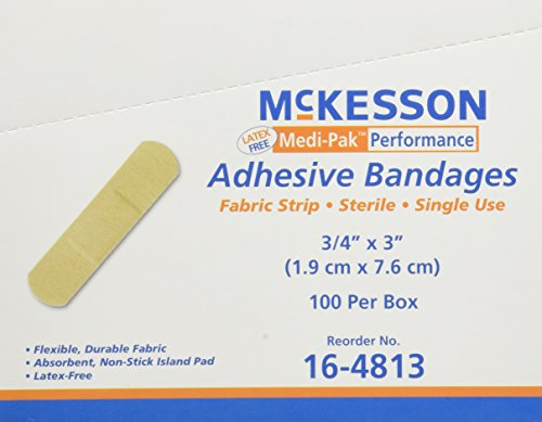 Performance Bandage Adhesive Fabric Strip 3/4