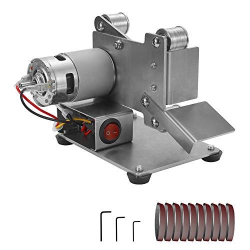 KKmoon Amoladora Multifuncional mini Lijadora de Correa Eléctrica Bricolaje Pulido Máquina, de Molienda Cortador Bordes…