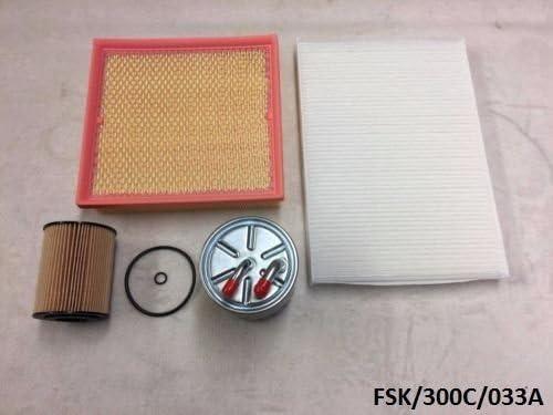 ASHIKA WINFIL Filters Service KIT 300C 3.0CRD 2005-2010