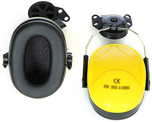 Schutzks Orejeras de Casco de Seguridad Auriculares Protectores de insonorizaci/ón Protecci/ón auditiva Prevenci/ón de Ruido Protecci/ón del Sitio
