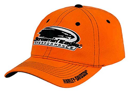 Harley-Davidson Men's Screamin' Eagle Reversed Contrast Cap HARLMH0312 (S/M) (Eagle Screamin Harley)
