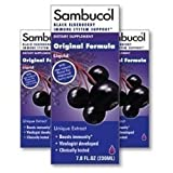 Sambucol Black Elderberry Syrup, 4 oz (Pack of 8)