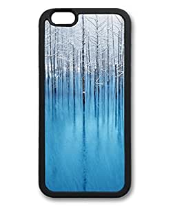 Black Case for iphone 5s,Fashion Cool Art Winter Custom Protective Soft TPU Back Case Cover for iphone 5s