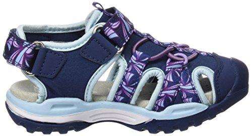 Geox J620WB015AN, Sandalias Cerradas Niñas Azul (Navyc4002)