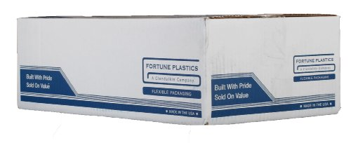 Fortune Plastics DuraLiner Premium LDPE 45 Gallon Waste Can Liner, Star Seal, Rust, 1.5 Mil, 46'' x 40'' (Case of 125) by Fortune Plastics (Image #3)