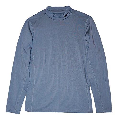 NIKE Men's Training Mock Turtle Neck Shirt (Small)