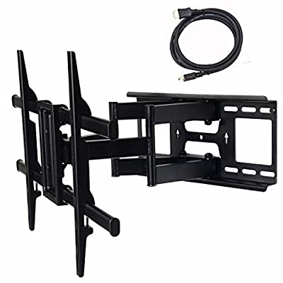 VideoSecu Full Motion Articulating Tilt TV Wall Mount Bracket by VideoSecu