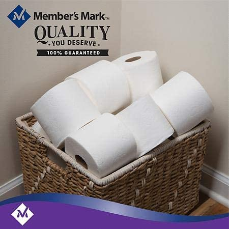 Member's Mark Ultra Premium Bath Tissue, 2-Ply Large Roll (45 Rolls)