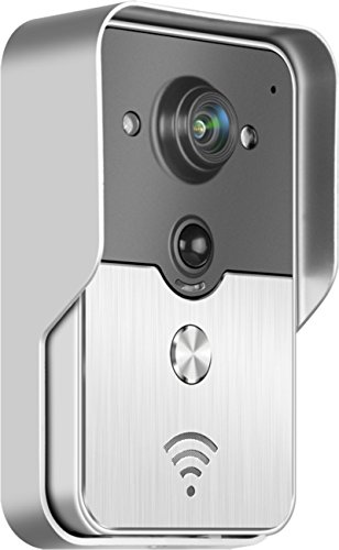 ALEKO HL3501 WiFi Wireless Visual Intercom Smart Doorbell for Smartphones and Tablets