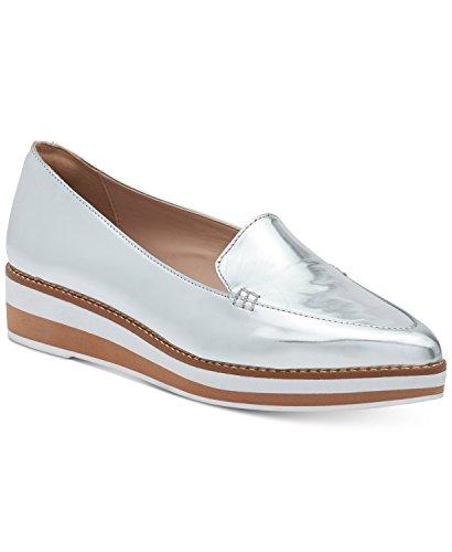 DKNY Seaport Platform Shoes Footwear Silver 5.5 M US
